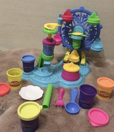 Play-Doh игровой набор с пластилином.Карнавал сладостей Cupcake