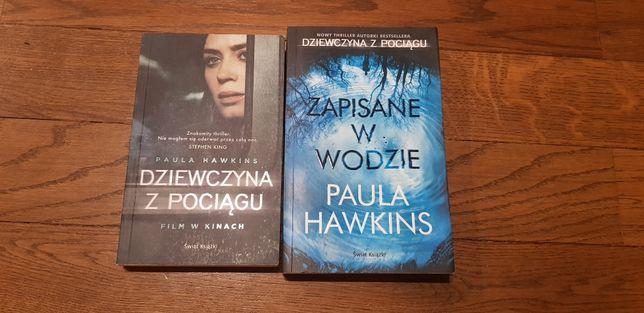 """""""Dziewczyna z pociagu"""", """"Zapisane w wodzie"""" Paula Hawkins"""