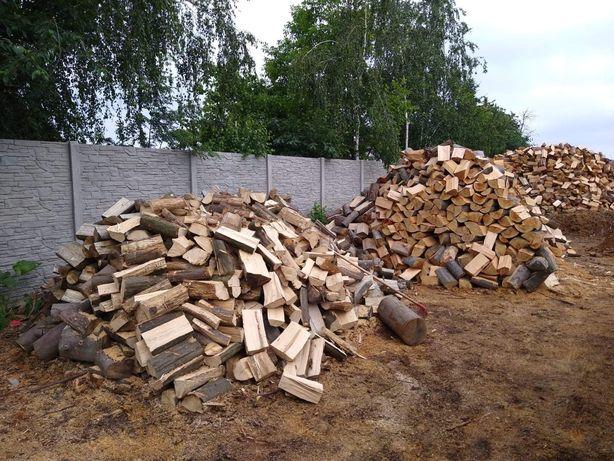 Drewno drzewo kominkowe do pieca brzoza dąb buk grab