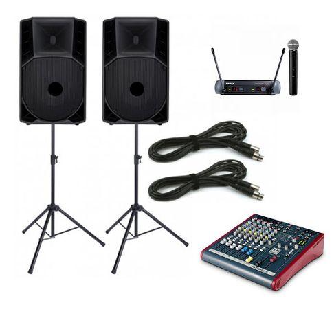 Аренда минимального комплекта звука для вечеринки в Запорожье