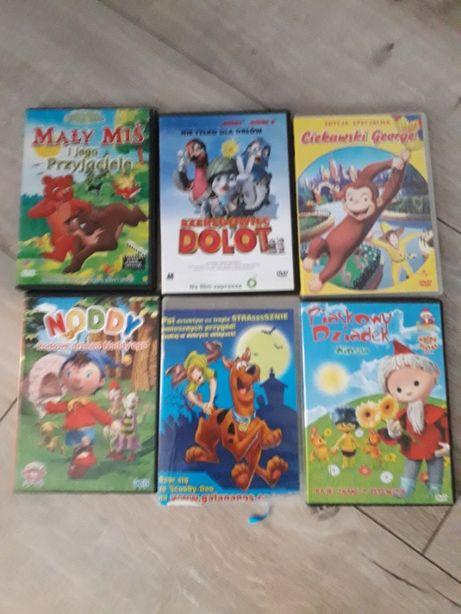 Bajki DVD różne