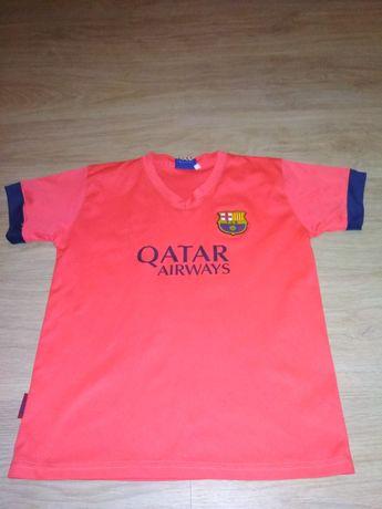 Koszulka FC Barcelona Neymar jr neonowy pomarańcz dziecięca