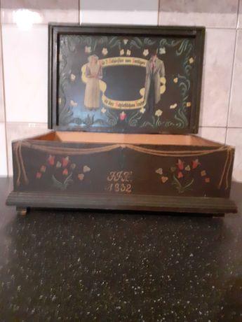 Przedwojenna szkatulka 1932 r