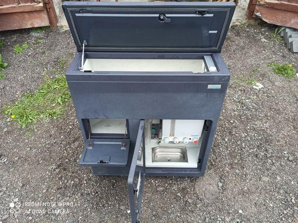 Холодильник кулер камера у автобус фуру КОМПРЕССОР DANFOSS BD35F 12/24