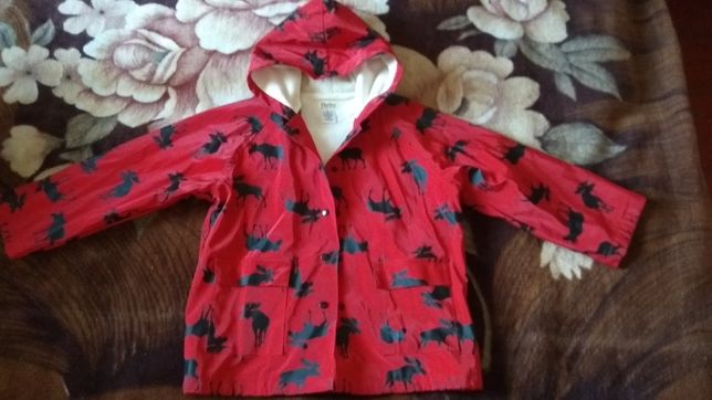 Куртка дождевик утепленная