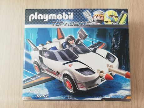 Playmobil Top Agents 9252 Agent P. i racer NOWE - UNIKAT