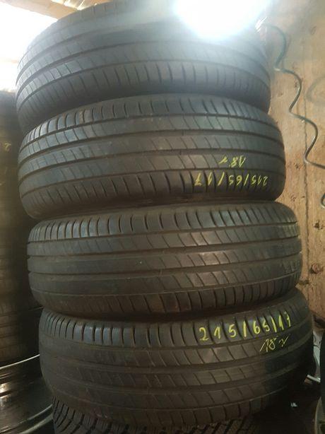 Opony Letnie R17 215/65-8mm Montaż-Mishelin 18Dot