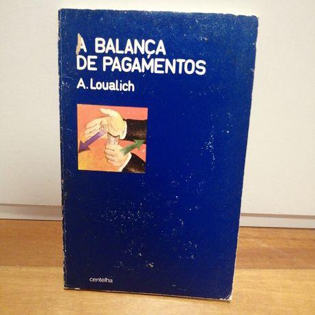 Livro antigo dos ano 70 - A Balança de Pagamentos
