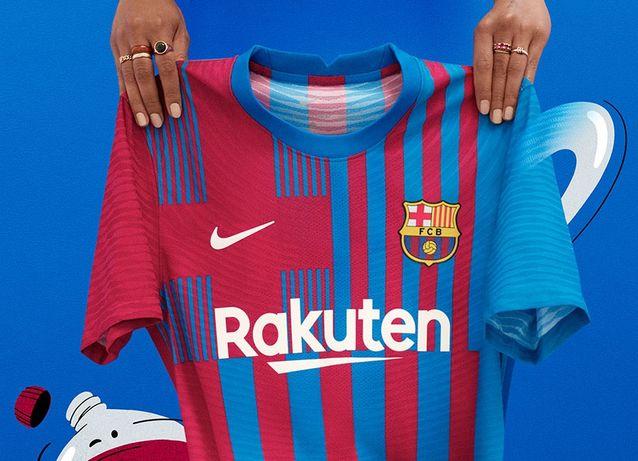 Camisolas Barcelona. Todos os tamanhos disponíveis