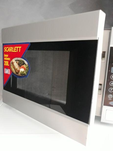 Продам новую (не рабочую) микроволновку Scarlett SC-2005 с грилем