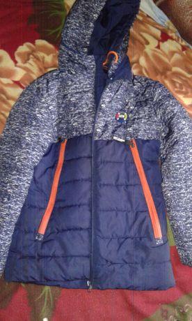 куртка демисезонная,осень-весна,теплая зима128-134-140-146
