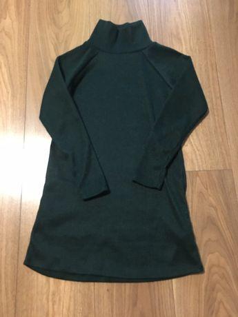 Sukienka sweter śliczna 134