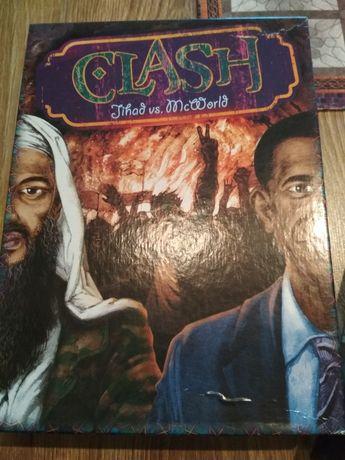 Clash Jihad vs. McWorld - gra planszowa