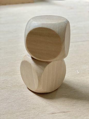 Деревяний кубік 40мм вільха