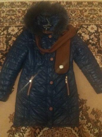 Жіноча зимова курточка - пальто.