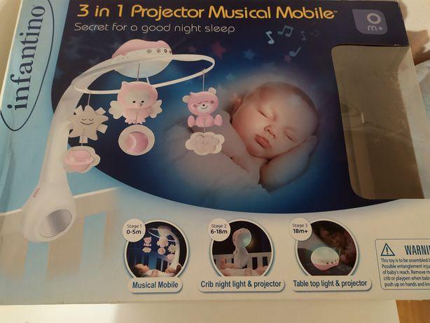 Дитячий мобіль з проектором Infantino