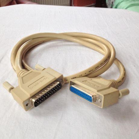Kabel przdłużacz przewód dł. 1,40 m. do drukarki, skanera