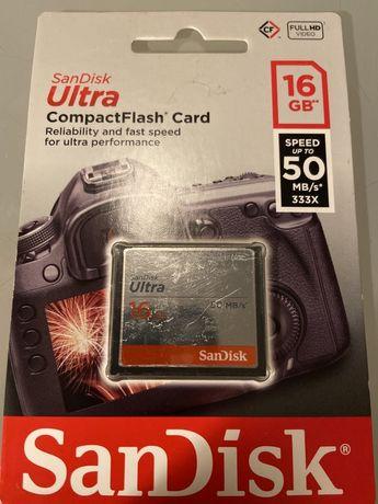Karta pamięci SanDisk 16GB 50MB/s CF Ultra