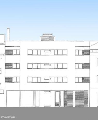 Terreno para construção, nas Olaias, com projecto aprovado