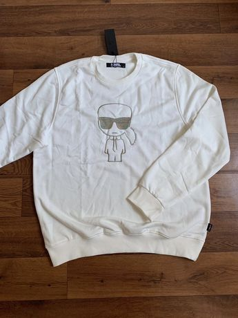 Bluza Karl Lagerfeld white