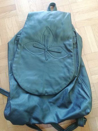 Plecak z naturalnej skóry