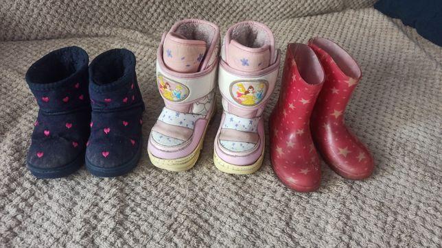 Угги ботинки сапоги зимние демисезонные резиновые