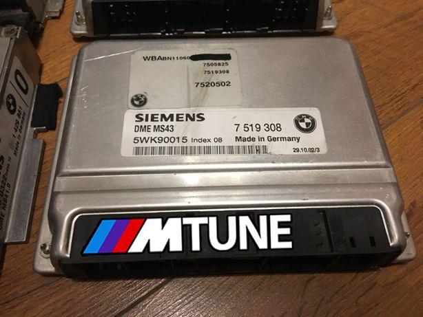 Sterownik ECU komputer BMW E46 MS43 M54b30 EWS OFF LAMBDA OFF DRIFT