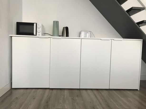 Armário cozinha c/ frigorifico encastrado