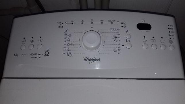 Пральна машина WHIRLPOOL AWE 66710