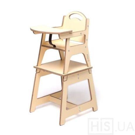 Деревянный стульчик для кормления MiMi.