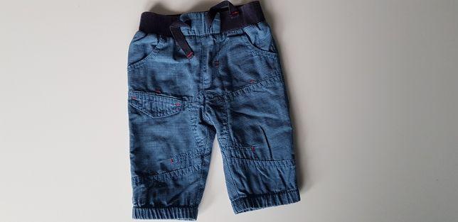 Spodnie niemowlęce r.56