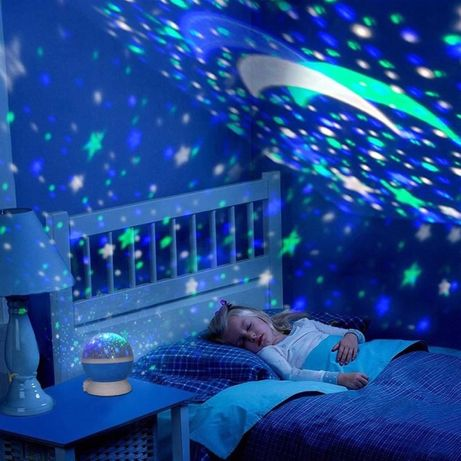 Projektor Gwiazd Star LED - Lampka Nocna