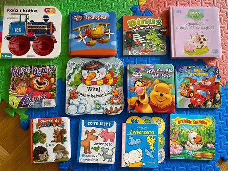 12 książeczek dla najmłodszych plus gratisy :)
