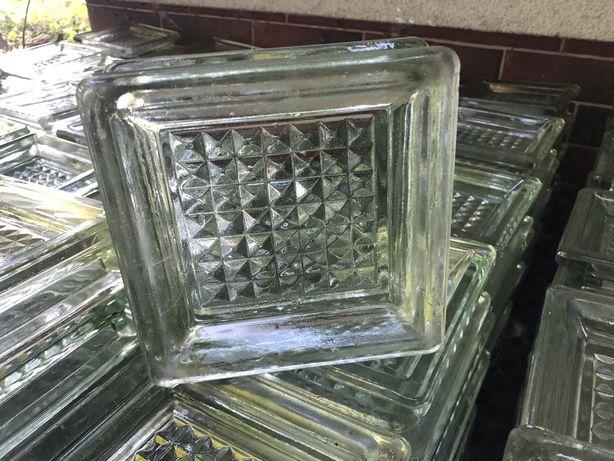 Luksfery pustaki szklane retro