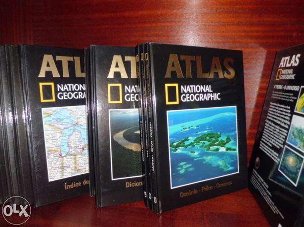 Enciclopédia / livros Atlas National Geographic