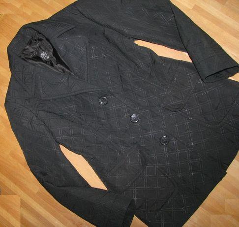 kurtka damska pikowana czarny 44