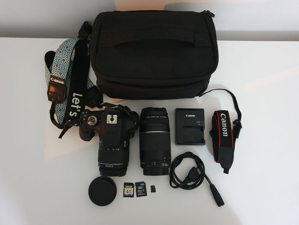 Canon EOS 2000D e acessórios