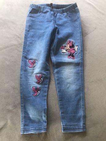 Spodnie jeans Calzedonia r. 104, 3-4 latka