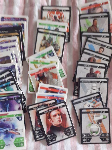 Karty Star Wars Kaufland WSZYSTKIE NUMERY kart