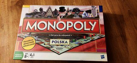 Monopoly Polska Hasbro Gra planszowa dla dzieci i dorosłych NOWA