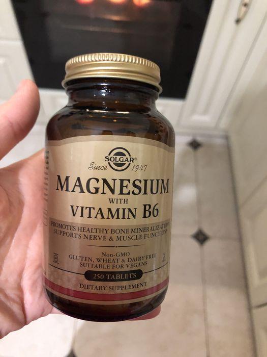 Вітамини solgar magnesium vitami B6 Львов - изображение 1