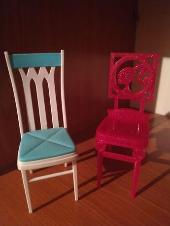 Krzesełka dla Barbie