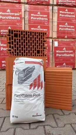 Porotherm Profi 25 Wienerberger Pustak ceramiczny