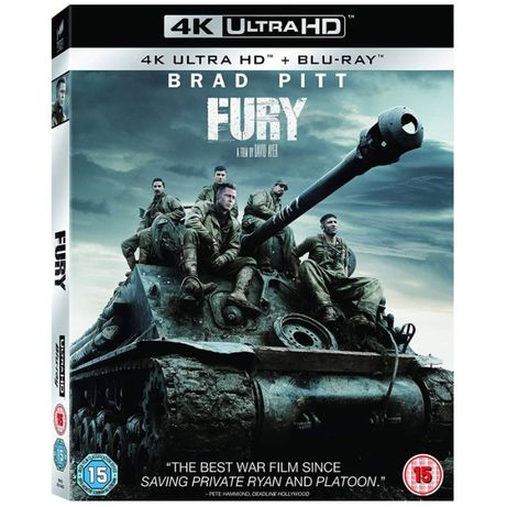 Продам 4K Ultra HD Blu-ray Fury (Ярость)