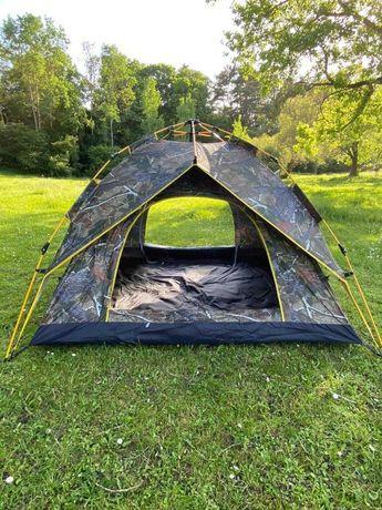 Новая для кемпинга Автомат Палатка - двухслойная четырех местная.