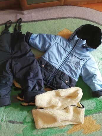 Зимний комплект. комбенизон и куртка