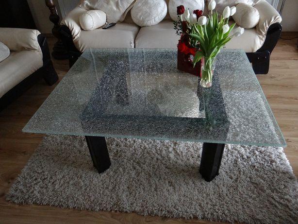 Blat szklany do ławy, stół