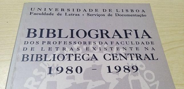 Bibliografia da Biblioteca Central da Faculdade de Letras de Lisboa.