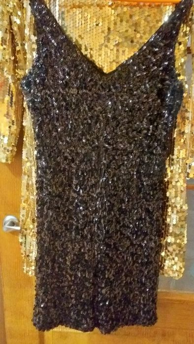 Кокетливое маленькое чёрное платье Марганец - изображение 1