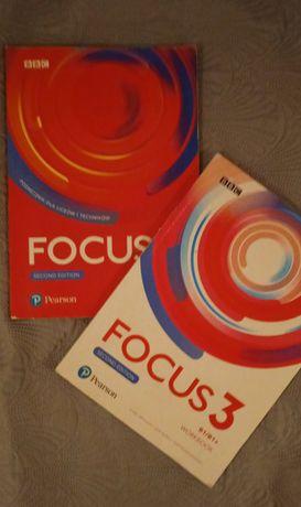 FOCUS 3 second edition B1/B1+ podręcznik+ćwiczenia (po podstawówce)